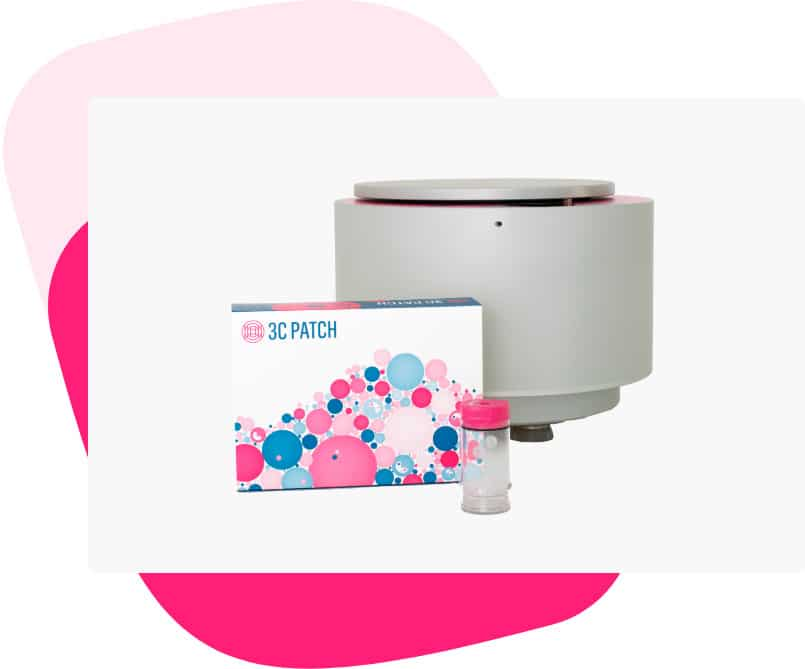 3C Patch System: centrifuge and kit